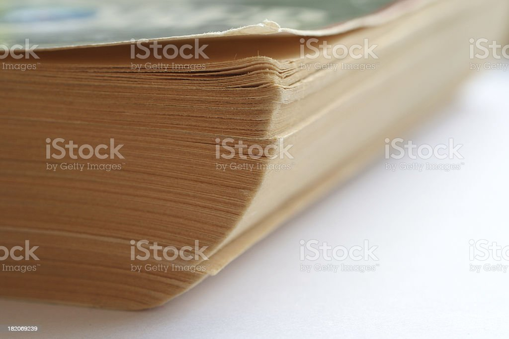 Old Paperback royalty-free stock photo