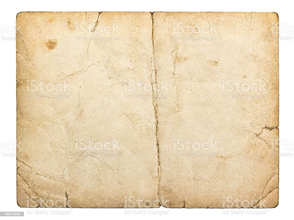 old paperboard card royalty-free stock photo