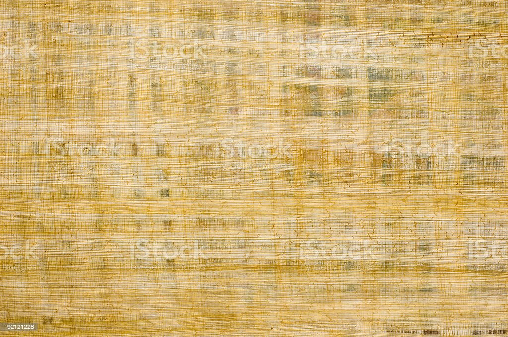 Old papyrus background texture from Egypt stock photo