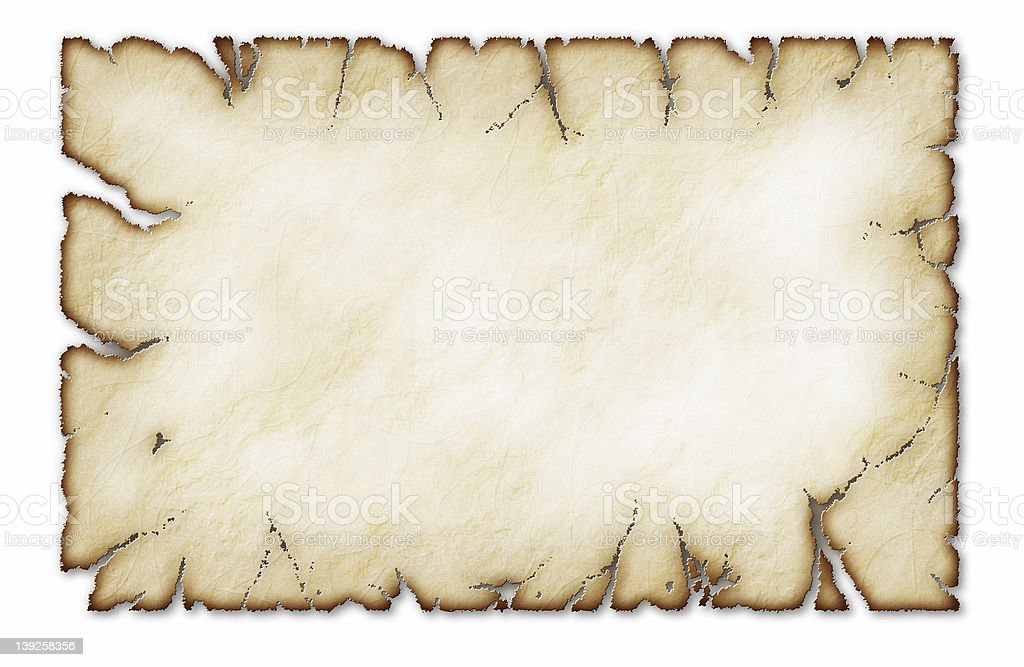 Old Parchment 02 royalty-free stock photo