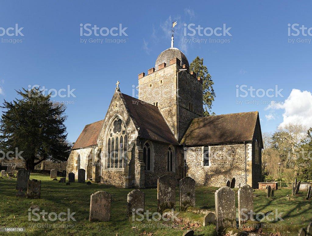 Old Parish Church stock photo