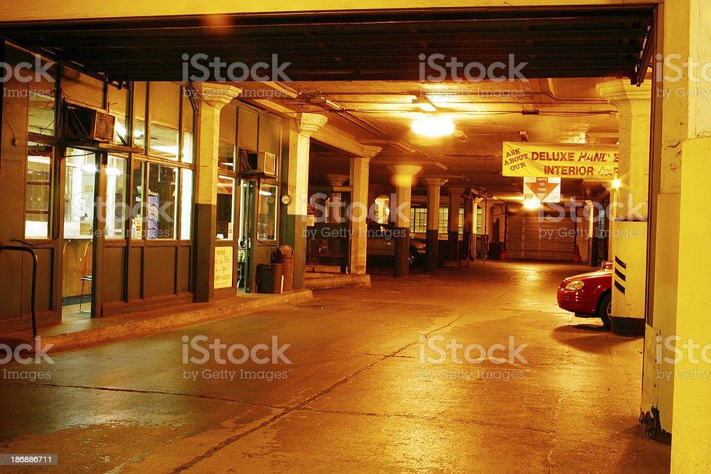 Old Parking Garage, Dayton, Ohio royalty-free stock photo
