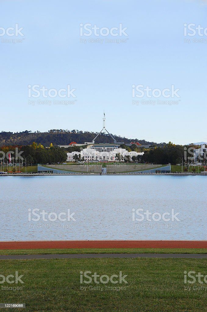 Old Parliament House, Canberra, Australia royalty-free stock photo