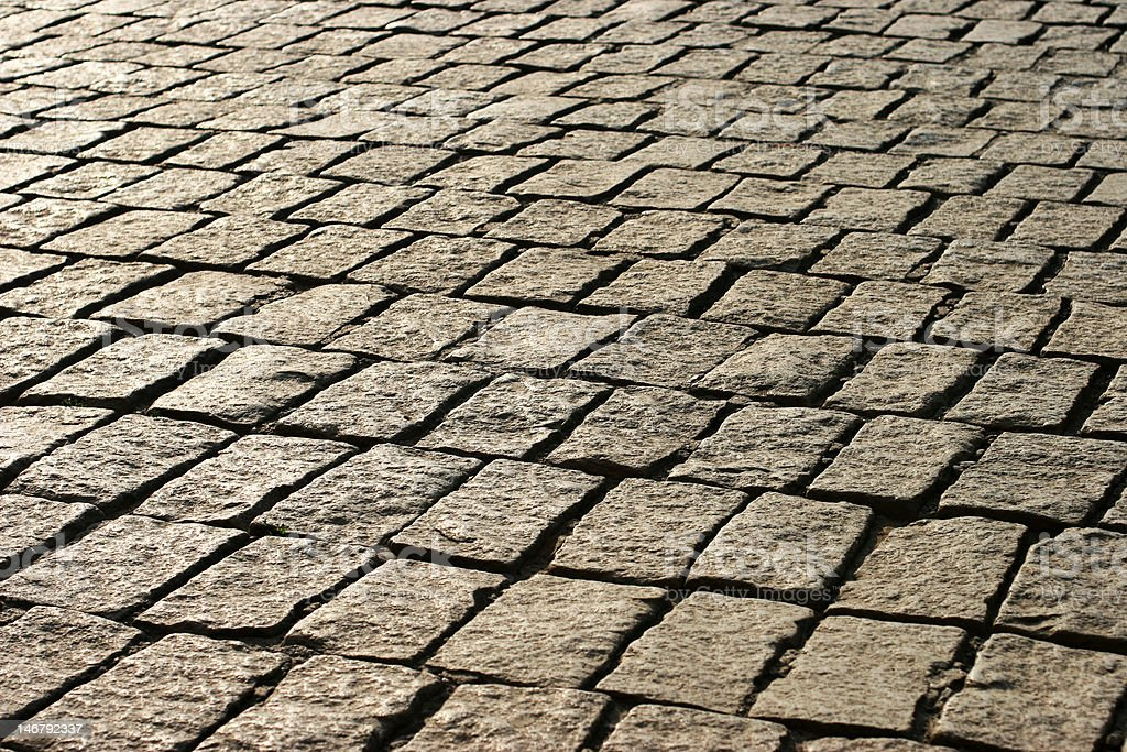 Old Pavement 1 royalty-free stock photo