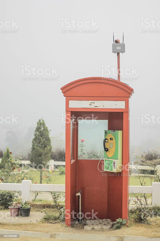 Old Payphone royalty-free stock photo