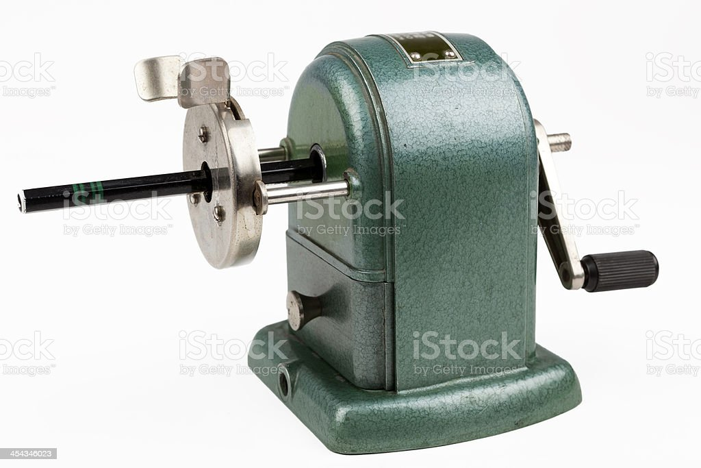 Old Pencil Sharpener royalty-free stock photo