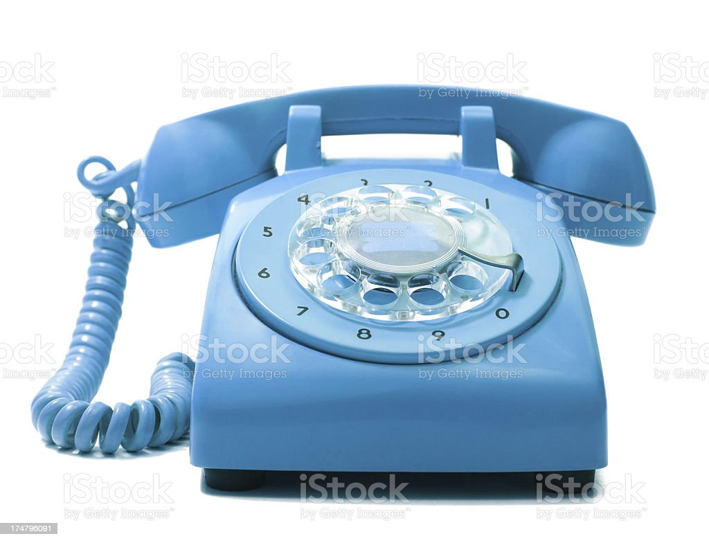 Old Phone stock photo