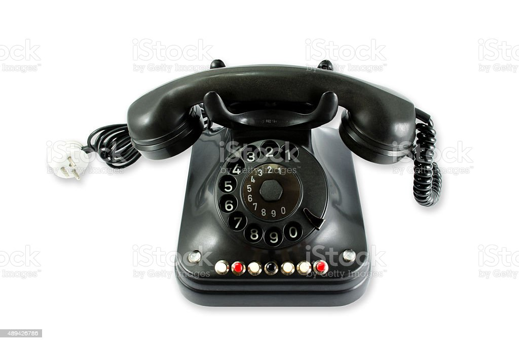 Old Phone... royalty-free stock photo