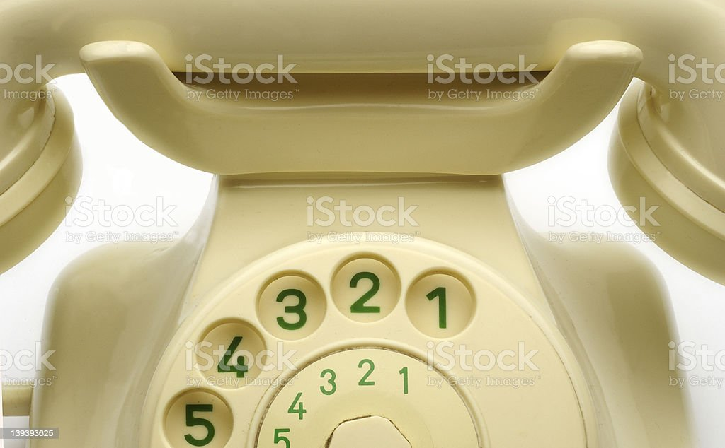 old phone_03 stock photo