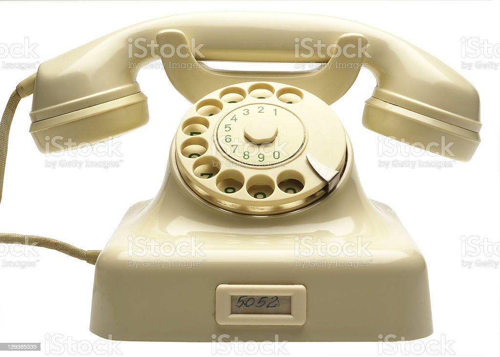 old phone_08 stock photo