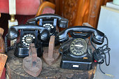 old phones and irons