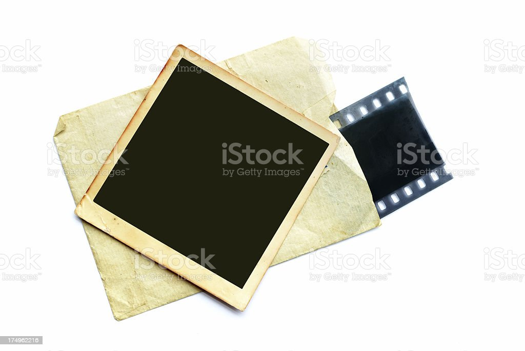 Old Photo & flim royalty-free stock photo