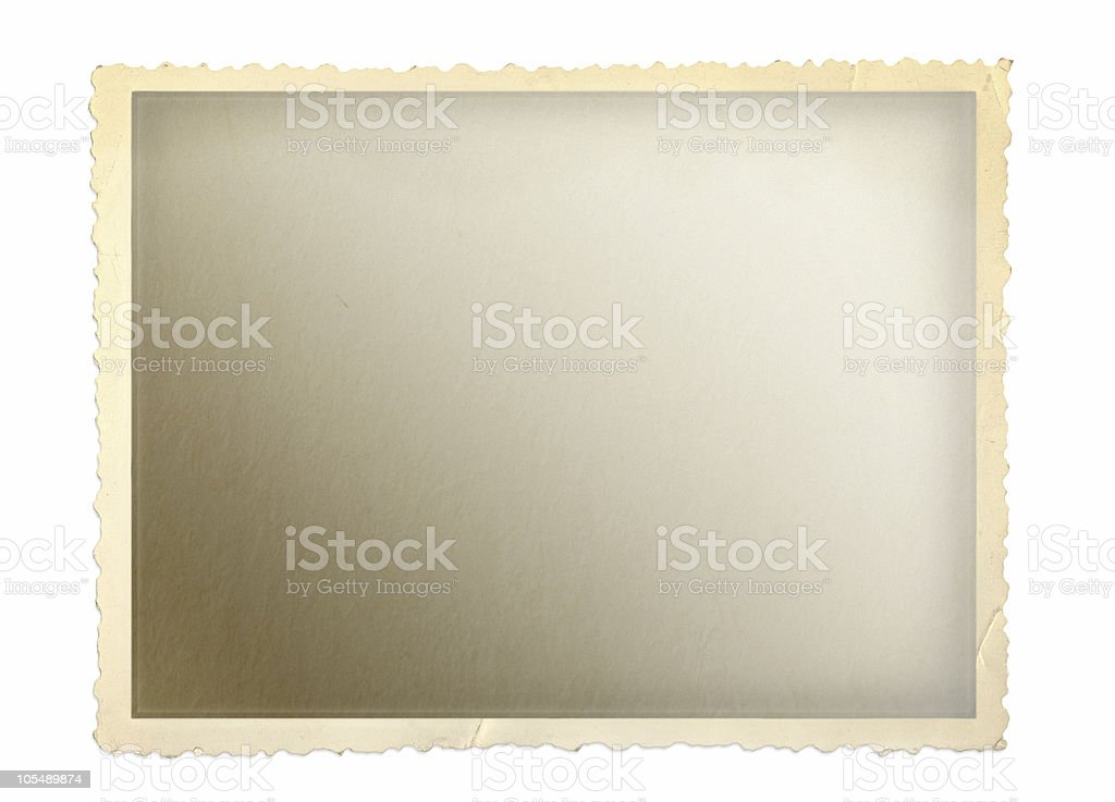 Old Photo Frame royalty-free stock photo