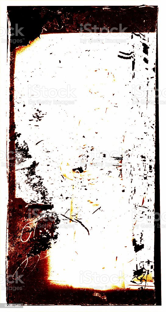 old photo frame stock photo