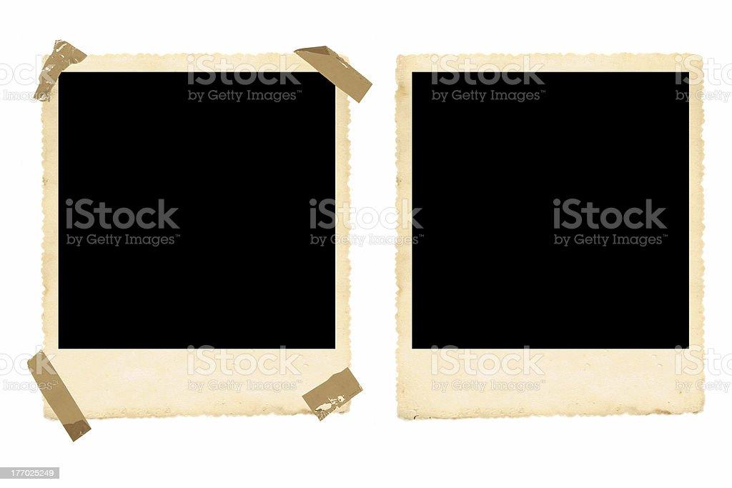 Old Photo Frames stock photo