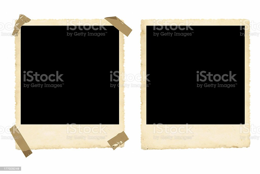 Old Photo Frames stock photo