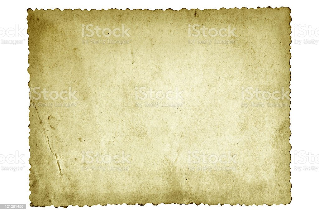 Old Photo Paper royalty-free stock photo
