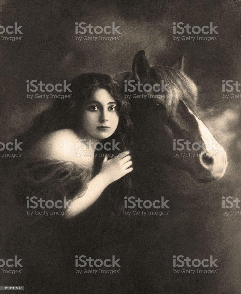 Old photo. royalty-free stock photo