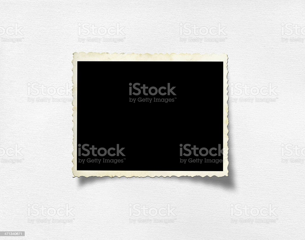 Old photo royalty-free stock photo