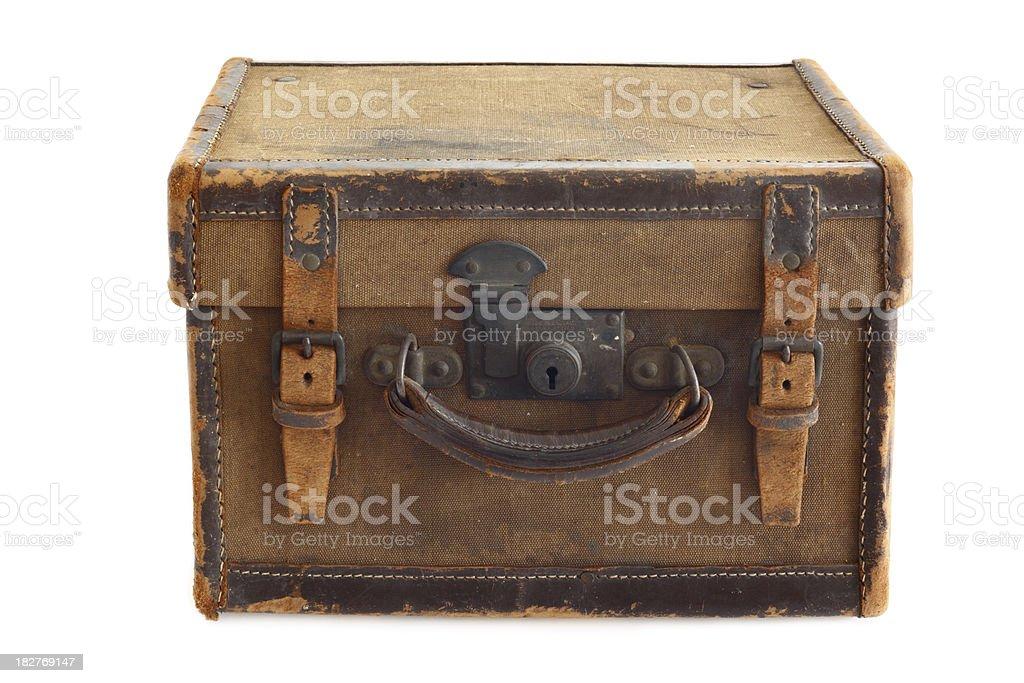 old photographer's case stock photo