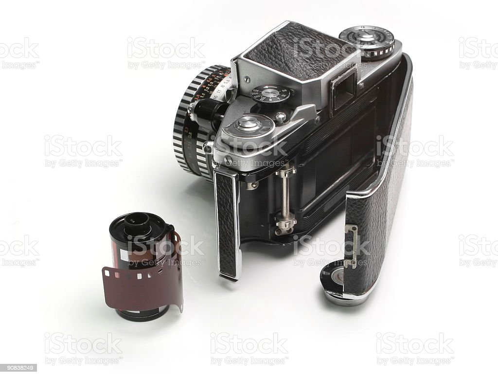 Old Photographing Equipment royalty-free stock photo