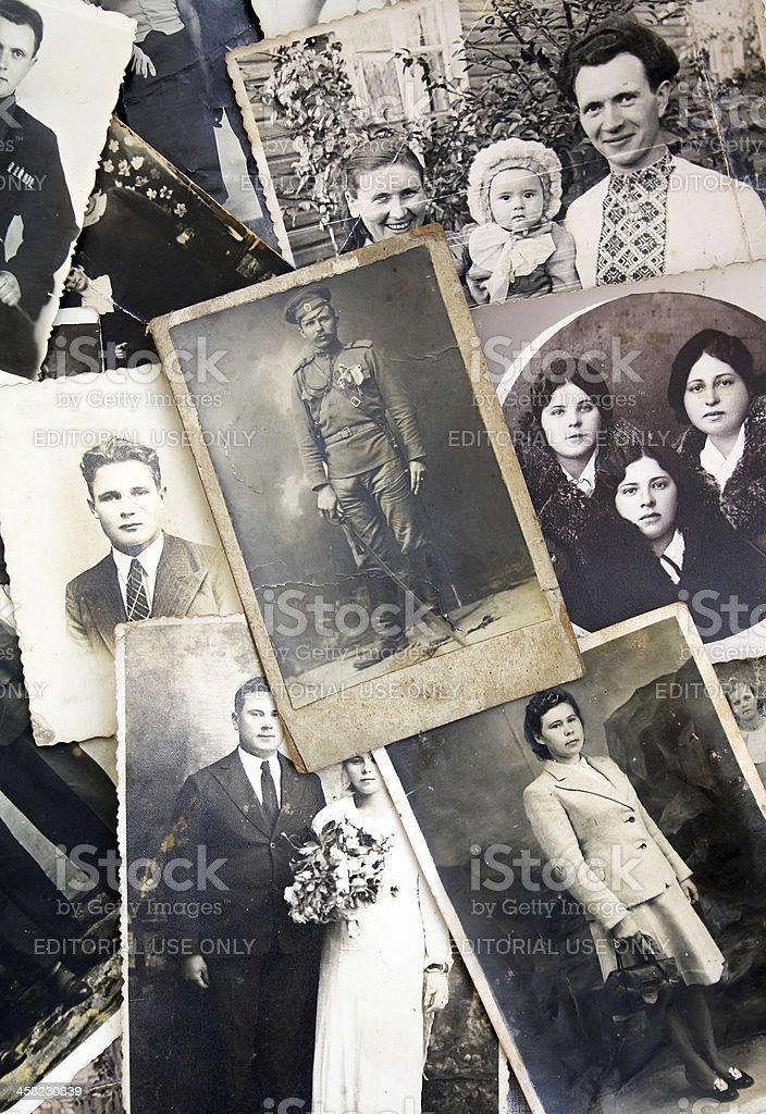 Old photos stock photo