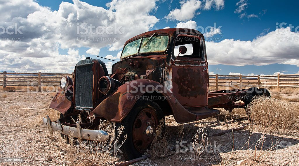 Old Pick-up Truck royalty-free stock photo