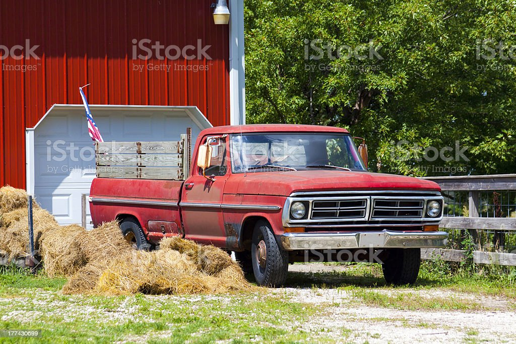 Old Pickup Truck royalty-free stock photo