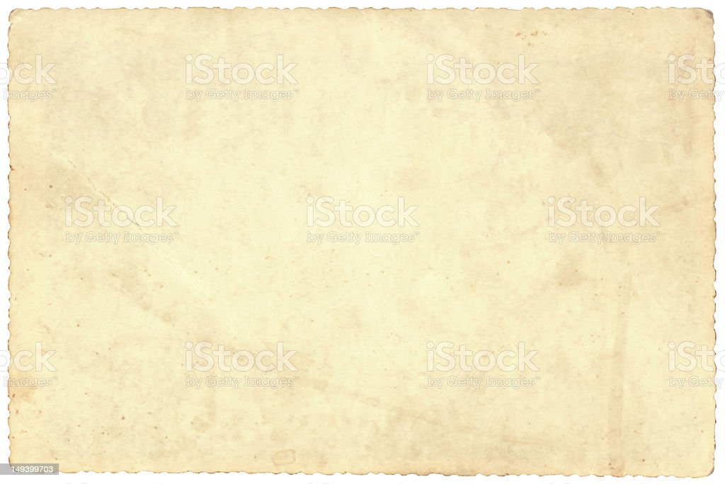 Old picture Paper royalty-free stock photo