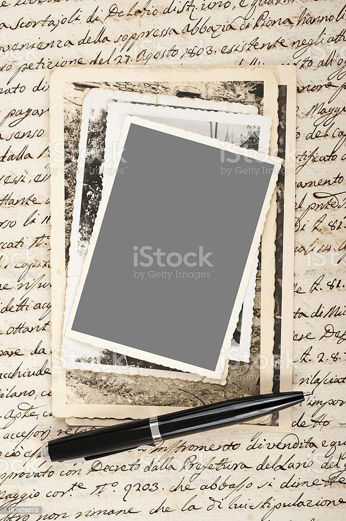 Old pictures royalty-free stock photo