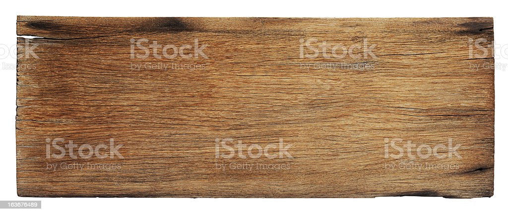 Old piece of weathered wood board. royalty-free stock photo