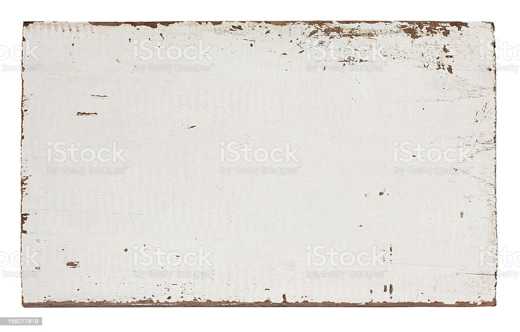 Old piece of weathered wood royalty-free stock photo