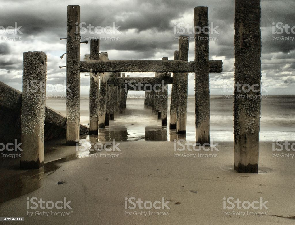 Old Pier stock photo