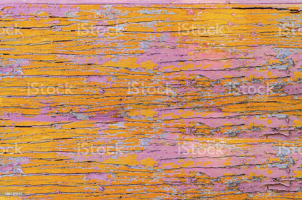 Old Pink Wood Texture Orange. royalty-free stock photo