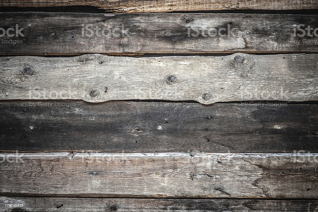 Old planks with nails tree texture royalty-free stock photo