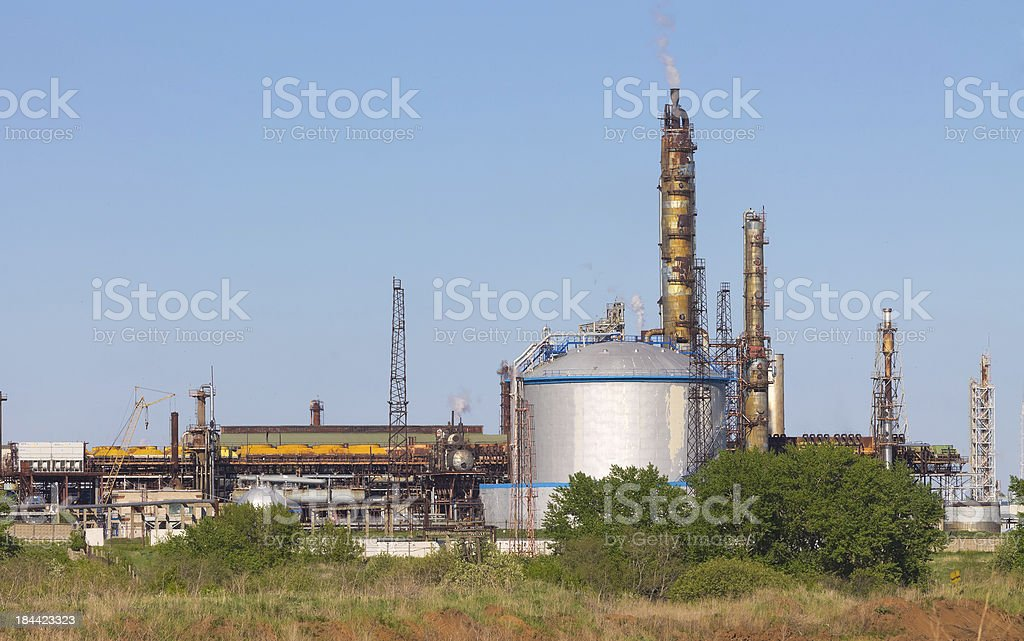 Old plant is working royalty-free stock photo