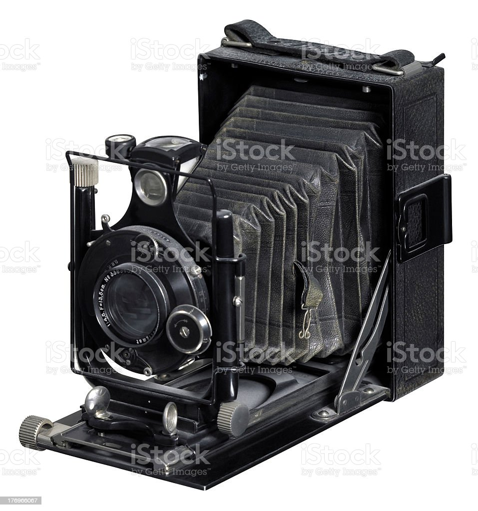 old Plate Camera stock photo