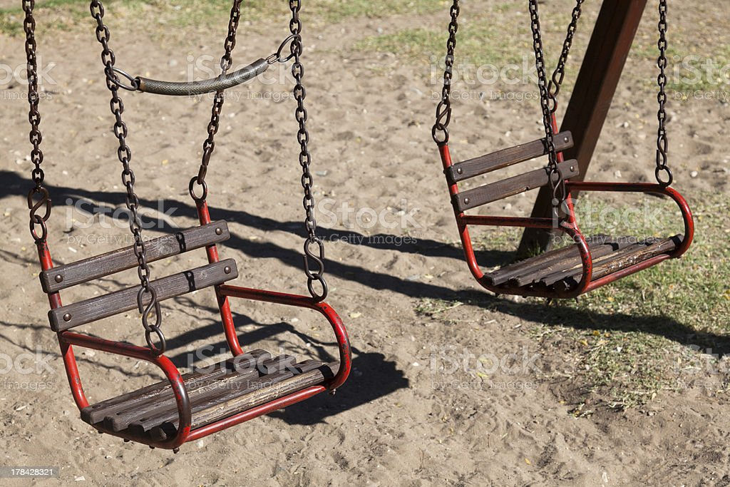 Old playground royalty-free stock photo