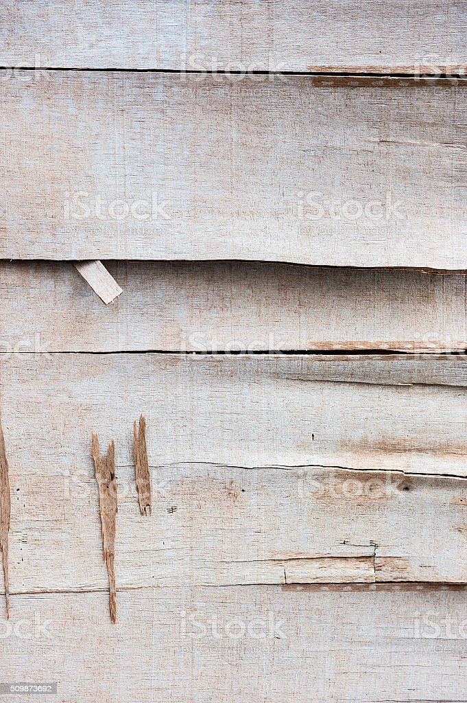 Old plywood panel stock photo