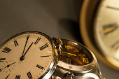 Old Pocket and Modern Watch