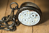 Old Pocket Watch Without Hands