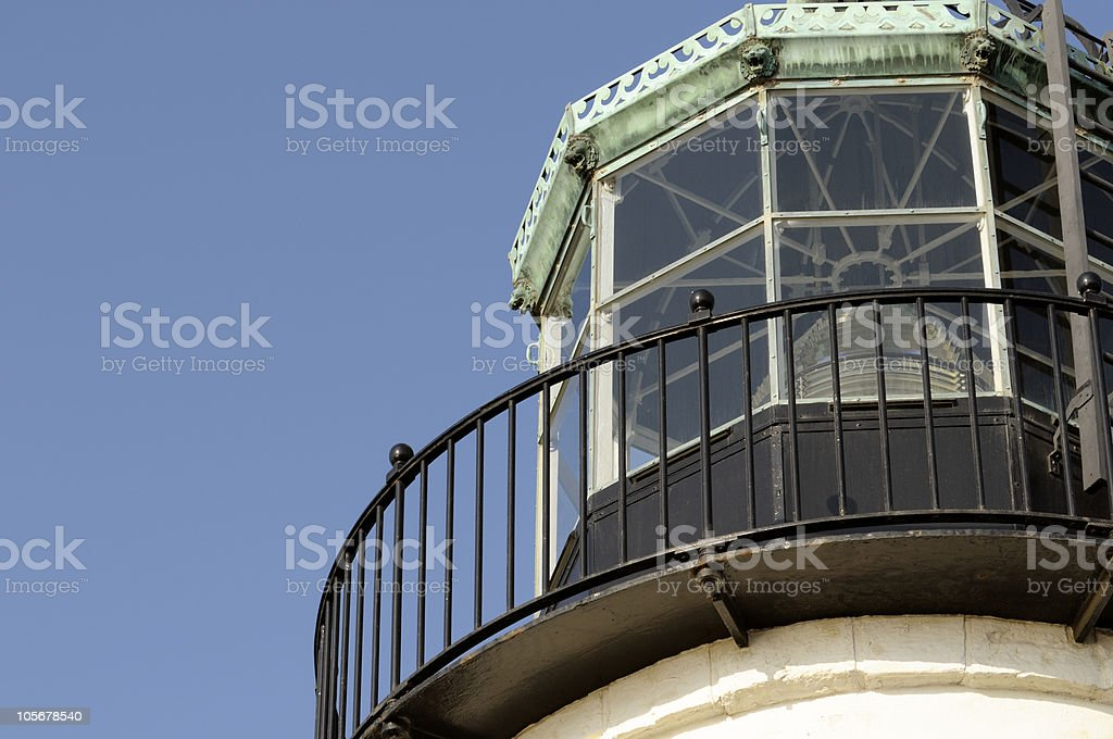 Old Point Loma Lighthouse Detail stock photo