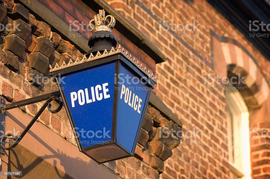 old police station stock photo