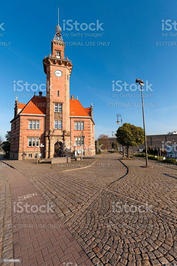 Altes Hafenamt stock photo