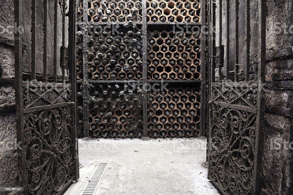 Old Porto wine cellar royalty-free stock photo