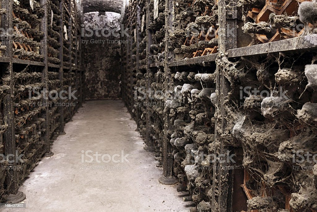 Old Porto wine cellar royalty-free stock photo