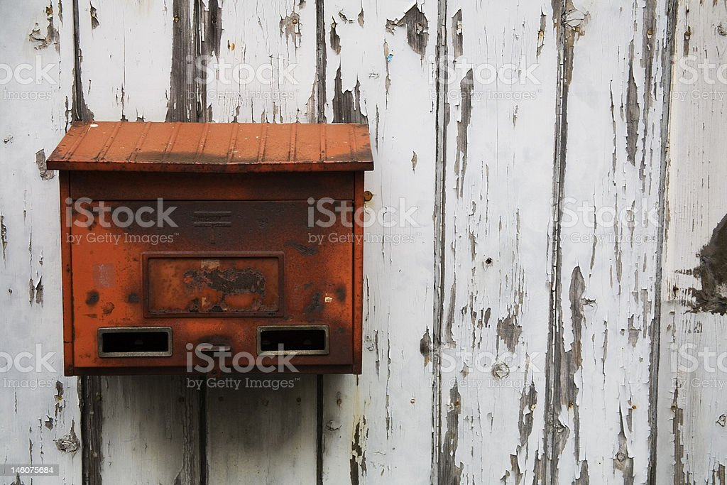 Old Post Box stock photo