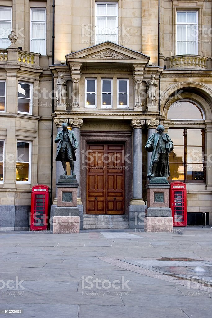 Old Post Office Leeds royalty-free stock photo