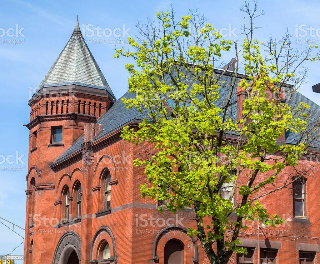 Old Post Office, York Pennsylvania stock photo