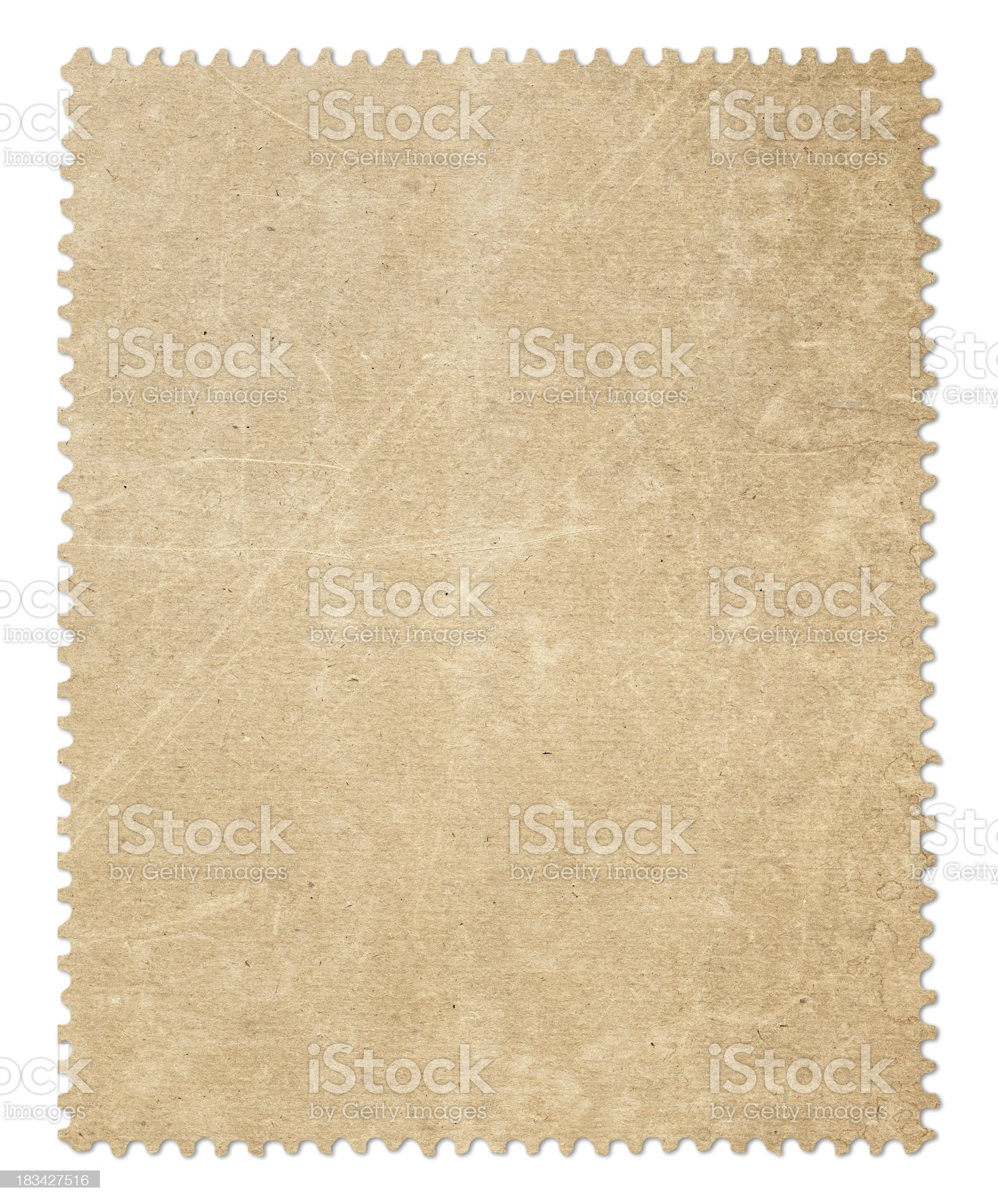 Old Postage Stamp royalty-free stock photo